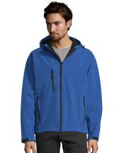Men`s Hooded Softshell Jacket Replay
