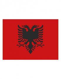 Fahne Albanien